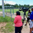 Sue Straughn of WEARTV3 interviews one of our Youth Leadership Council member